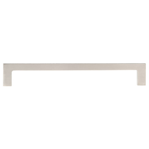 """View a Larger Image of Contemporary Pull, 6"""" Center-to-Center, Brushed Nickel"""