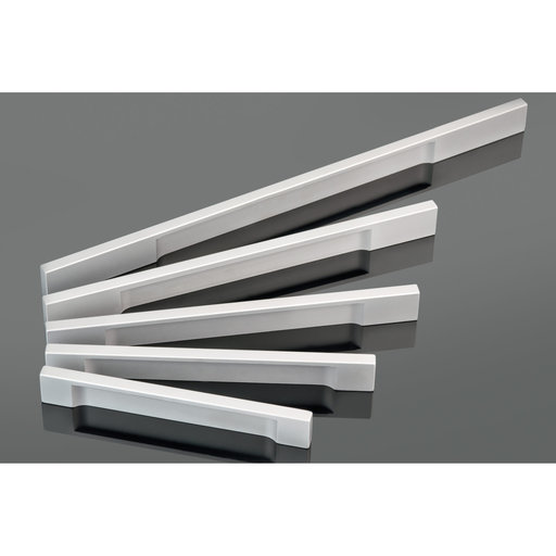 """View a Larger Image of Contemporary Pull, 7-9/16"""" Center-to-Center, Aluminum"""