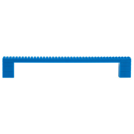 """View a Larger Image of Contemporary Pull, 7-9/16"""" Center-to-Center, Blue"""