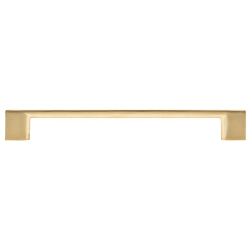 """View a Larger Image of Contemporary Pull, 7-9/16"""" Center-to-Center, Champagne Bronze"""