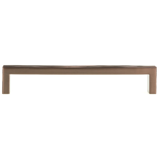 """View a Larger Image of Contemporary Pull, 7-9/16"""" Center-to-Center, Honey Bronze"""