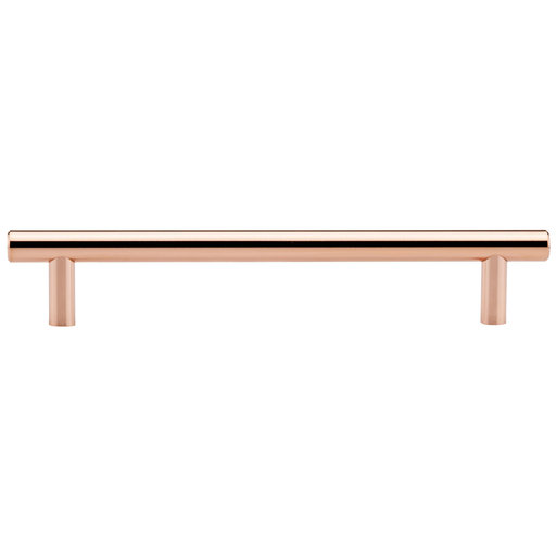 """View a Larger Image of Contemporary Pull, 7-9/16"""" Center-to-Center, Polished Copper"""