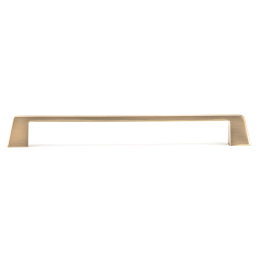 """View a Larger Image of Contemporary Pull, 8-13/16"""" Center-to-Center, Champagne Bronze"""