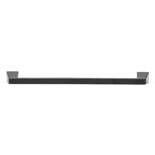 """View a Larger Image of Contemporary Pull, 8-13/16"""" Center-to-Center, Matte Black"""