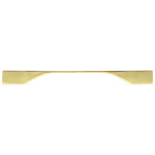 """View a Larger Image of Contemporary Pull, 8-13/16"""" to 10-1/8"""" Center-to-Center, Brushed Gold"""