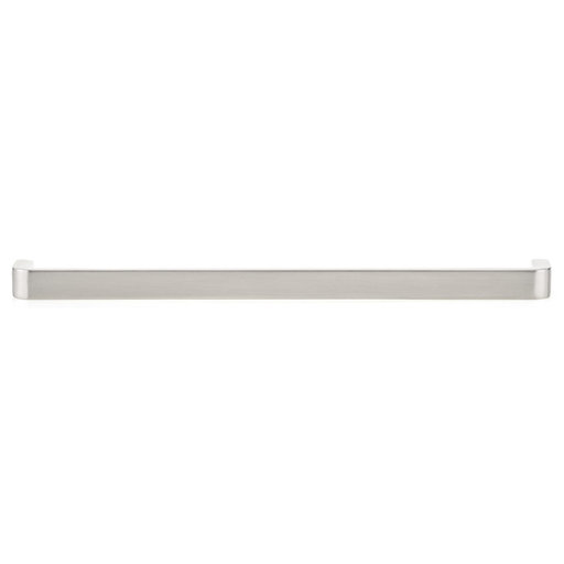 """View a Larger Image of Contemporary Pull, 8"""" Center-to-Center, Brushed Nickel"""