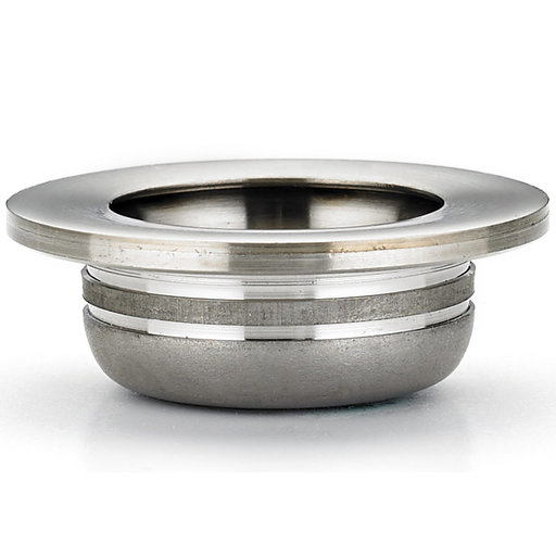 """View a Larger Image of Contemporary Recessed Pull, 1-3/8"""" D, Brushed Nickel"""