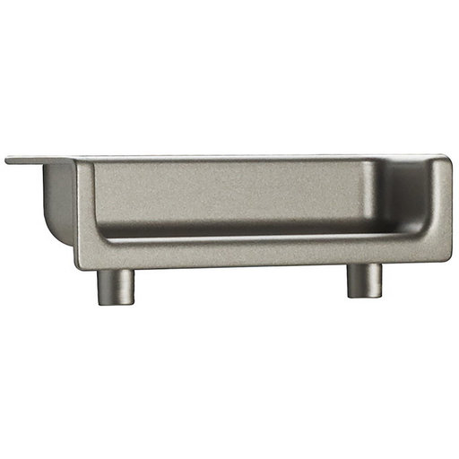 """View a Larger Image of Contemporary Recessed Pull, 2-1/2"""" Center-to-Center, Matte Nickel"""