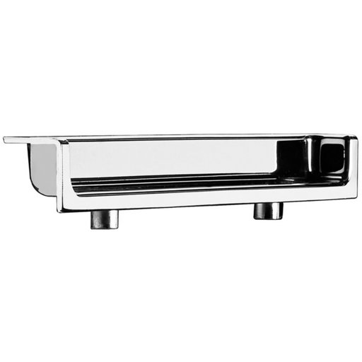 """View a Larger Image of Contemporary Recessed Pull, 3-3/4"""" Center-to-Center, Chrome"""
