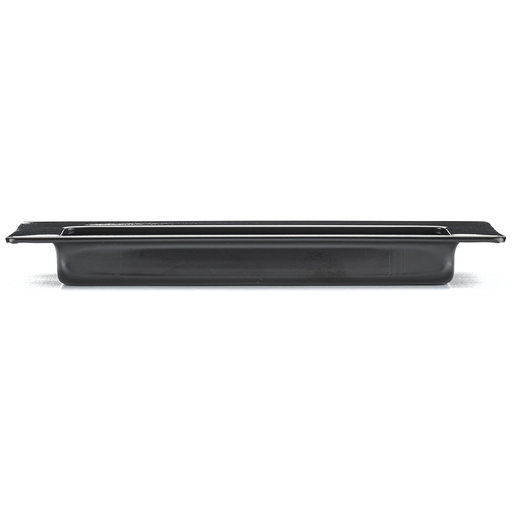 """View a Larger Image of Contemporary Recessed Pull, 4-15/32"""" x 1-5/8"""", Matte Black"""