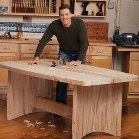 Coopered Leg Table - Downloadable Plan