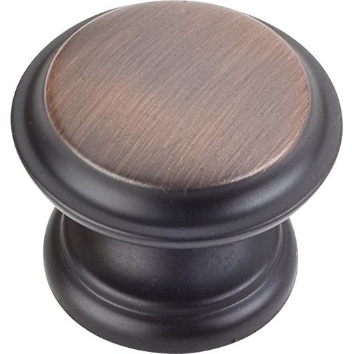 """View a Larger Image of Cordova Knob, 1-3/8"""" Dia.,  Brushed Oil Rubbed Bronze"""