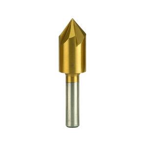 """1/2"""" Diameter Titanium-Nitride Coated Countersink"""