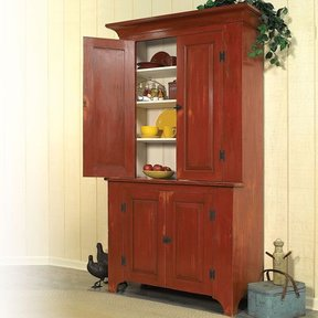 Country Classic Stepback Cupboard - Downloadable Plan
