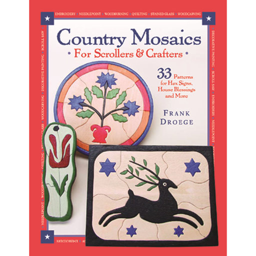 View a Larger Image of Country Mosaics for Scrollers and Crafters