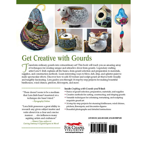 View a Larger Image of Crafting with Gourds