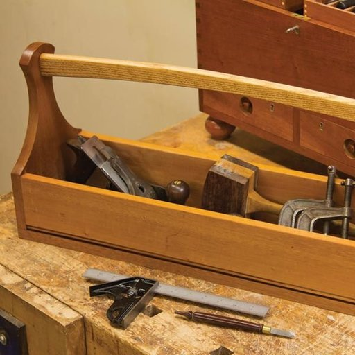 View a Larger Image of Craftsman's Tool Tote - Downloadable Plan