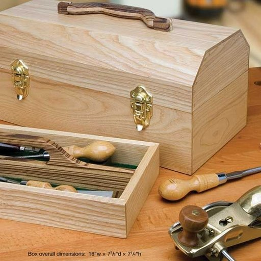 View a Larger Image of Craftsman's Toolbox - Downloadable Plan