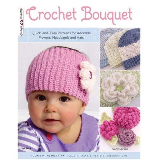 View a Larger Image of Crochet Bouquet