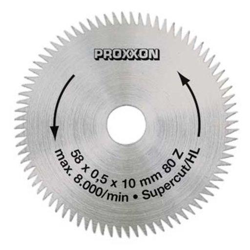 "View a Larger Image of Crosscut blade ""Super-Cut"" for Proxxon KS 115, 2-9/32"" diameter"