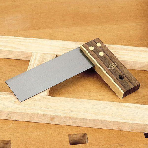 """View a Larger Image of Rosewood and Brass Try Square, 9"""""""