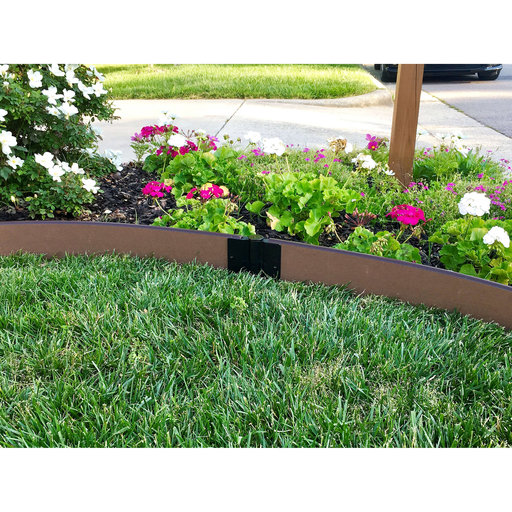 """View a Larger Image of  Curved Landscape Edging Kit 16' - 1"""" profile"""