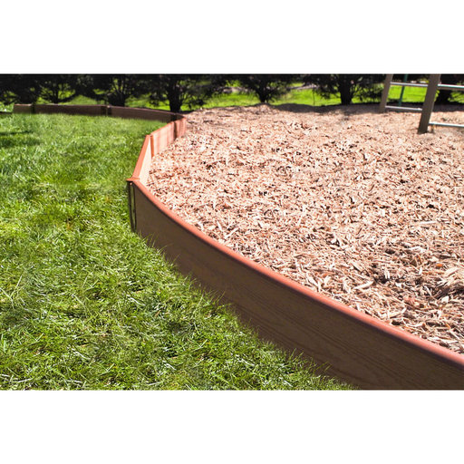 """View a Larger Image of Curved Playground Border 16' – 2"""" profile"""