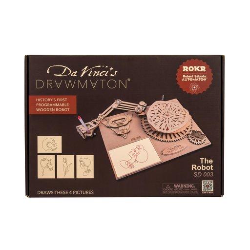 View a Larger Image of Da Vinci Robot Drawing Arm Kit