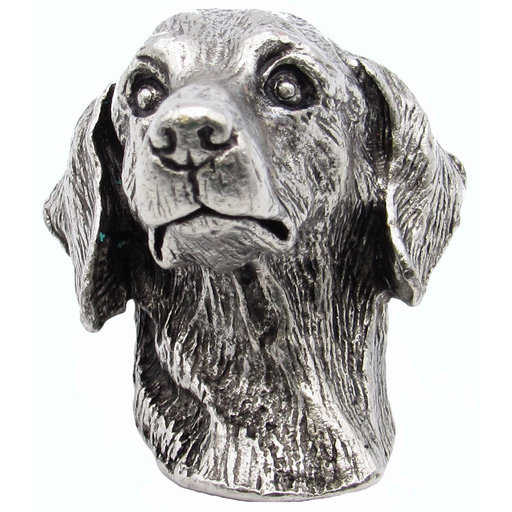 View a Larger Image of Dachshund Knob Pewter Oxide