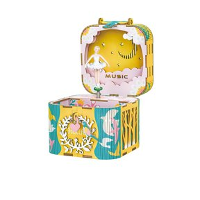 Dancing Ballerina Music Box Kit