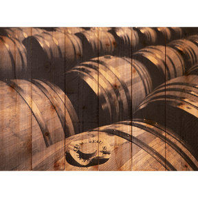 French Oak 33x24 Wood Art
