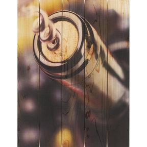 Un Wind 28x36 Wood Art