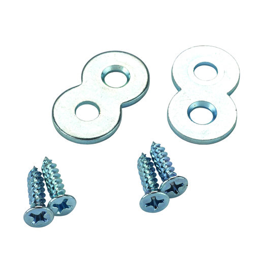"""View a Larger Image of Figure """"8"""" Desk Top Fasteners - 10 Piece"""