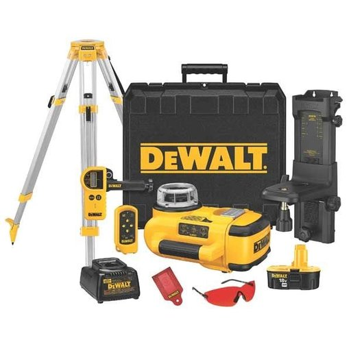 View a Larger Image of 18V Self-Leveling Interior/Exterior Rotary Laser Package, Model DW079KDT