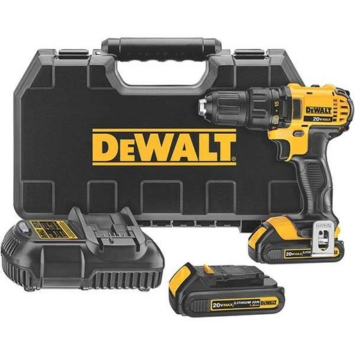 View a Larger Image of 20V MAX Lithium Ion Compact Drill/Driver Kit (1.5 Ah), Model DCD780C2