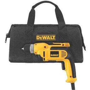 "3/8"" (10mm) VSR Pistol Grip Drill Kit with Keyless Chuck, Model DWD110K"
