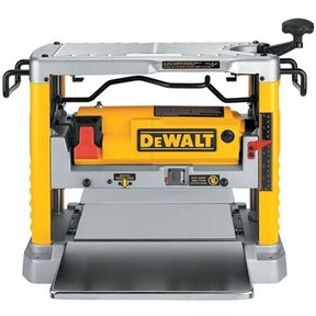 """Heavy-Duty 12-1/2"""" Thickness Planer with Three Knife Cutter-Head, Model DW734"""
