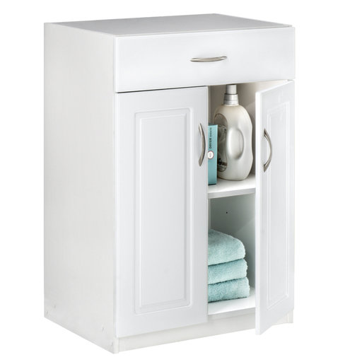 View a Larger Image of Dimensions Base Cabinet, White