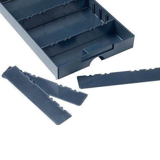 View a Larger Image of Divider for Drawer-SYS Medium 5 pcs Anthracite
