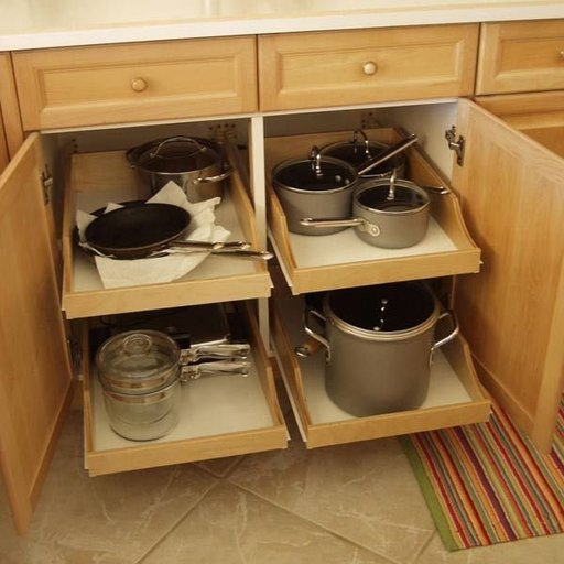 """View a Larger Image of DIY Pullout Shelf Kit 22"""""""