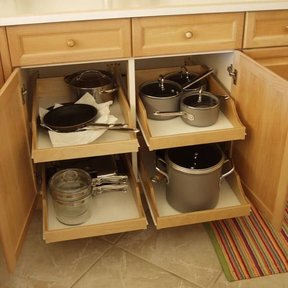 "DIY Pullout Shelf Kit 22"""