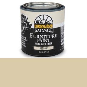'Dog Bone' - Bone White Furniture Paint, 1/2 Pint 236.6ml (8 fl. Oz.)
