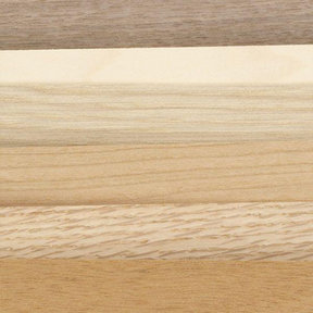 """Domestic Wood Veneer - 4-1/2"""" to 6-1/2"""" Width - Mixed Variety - 3 Square Foot Pack"""