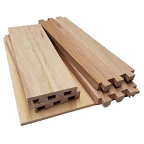 """Dovetail Drawer Boxes - 3.125""""h x 10""""w x 21""""d"""
