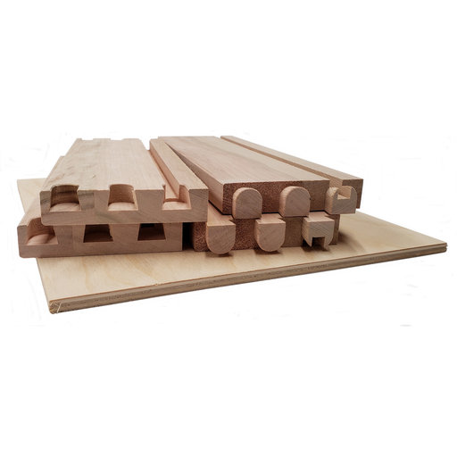 """View a Larger Image of Dovetail Drawer Boxes - 4.125""""h x 17""""w x 21""""d"""