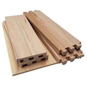 """Dovetail Drawer Boxes - 7.125""""h x 30""""w x 21""""d"""