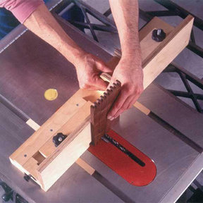 Downloadable Woodworking Project Plan to Build Box-Joint Jig Plan with a Penchant for Precision