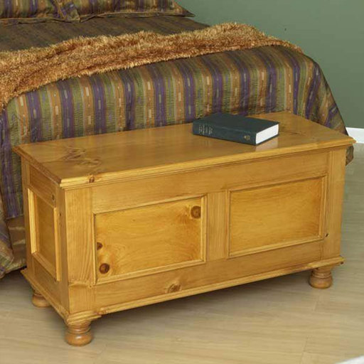 View a Larger Image of Downloadable Woodworking Project Plan to Build Cedar-Lined Blanket Chest