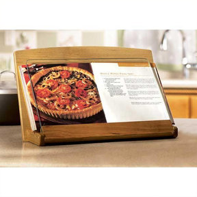 Downloadable Woodworking Project Plan to Build Cookbook Holder