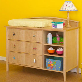 Downloadable Woodworking Project Plan to Build Double-duty Changing Table/Dresser